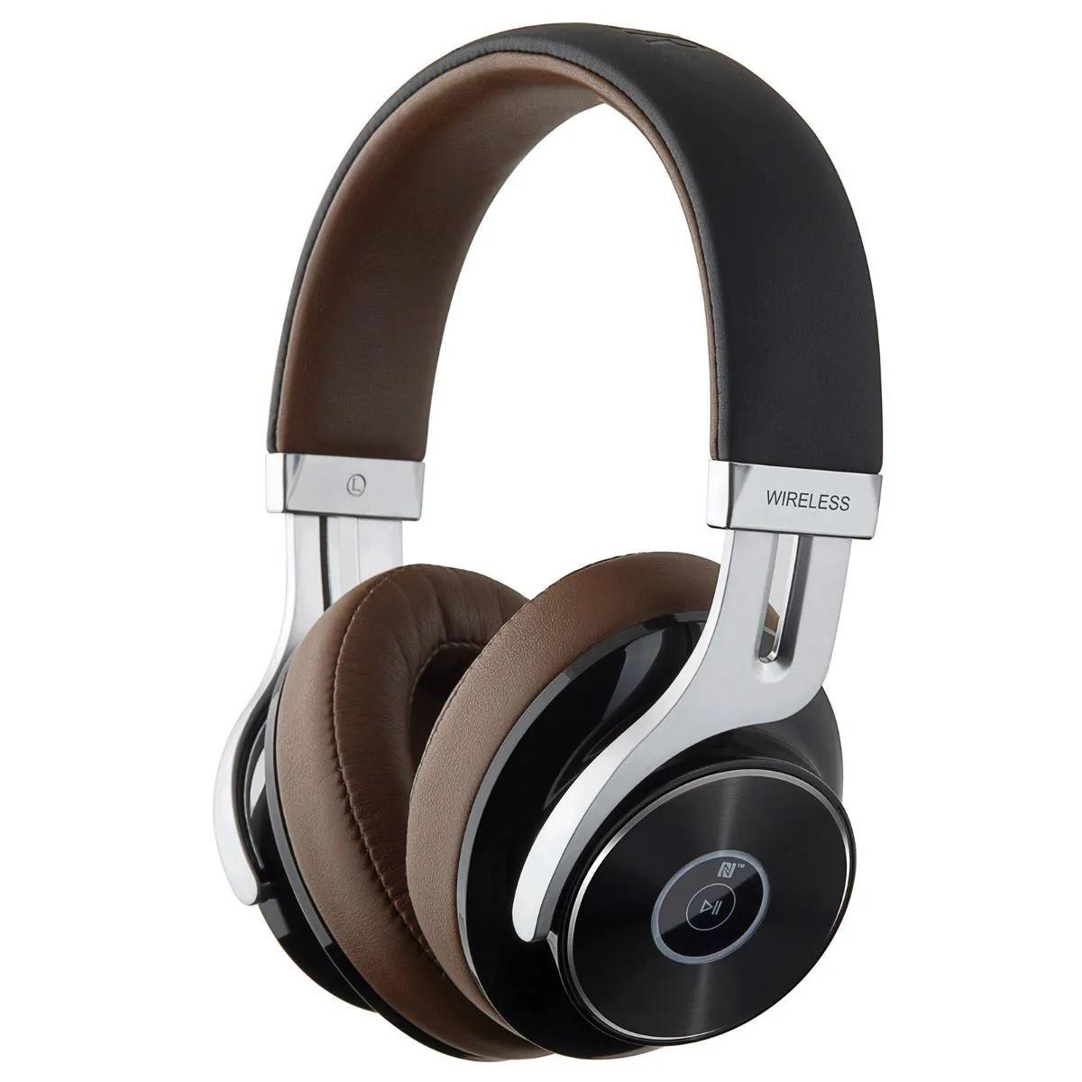 Fone de Ouvido Edifier W855BT Stereo Bluetooth Hi-Fi Marrom