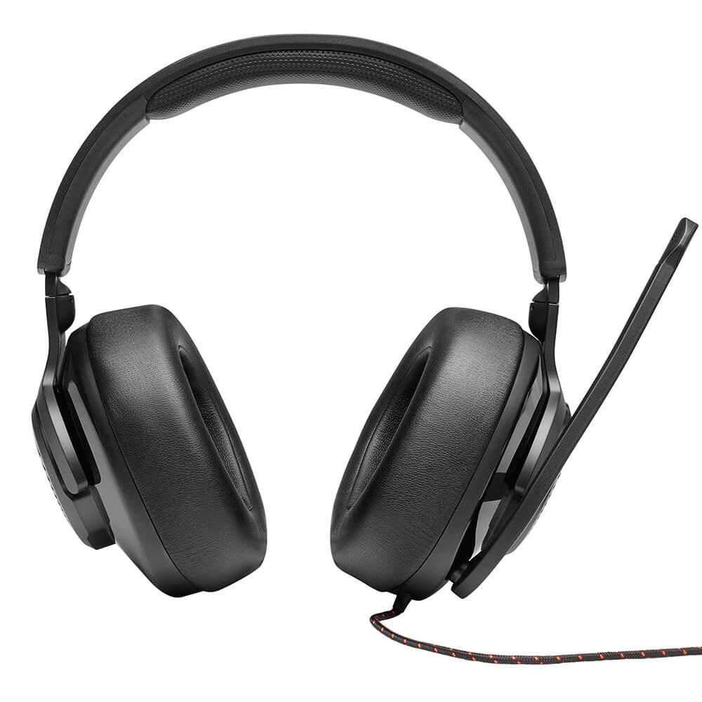 Fone de Ouvido JBL Quantum 200 Preto Gamer com Headset