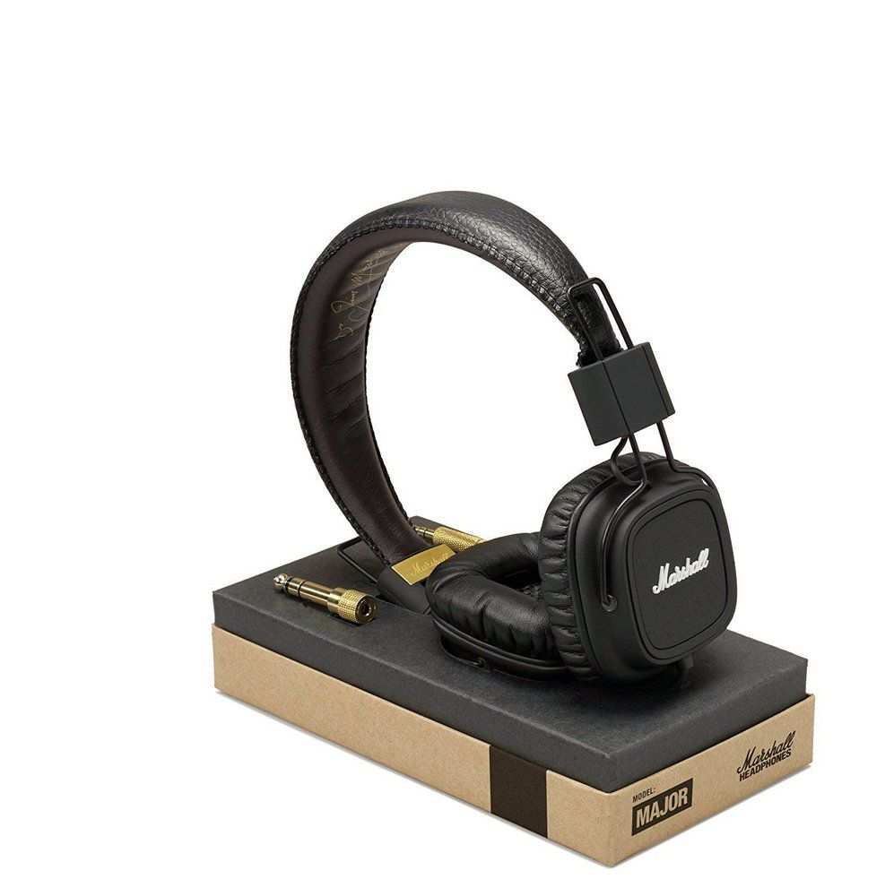 Fone de Ouvido Marshall Major On-Ear Black