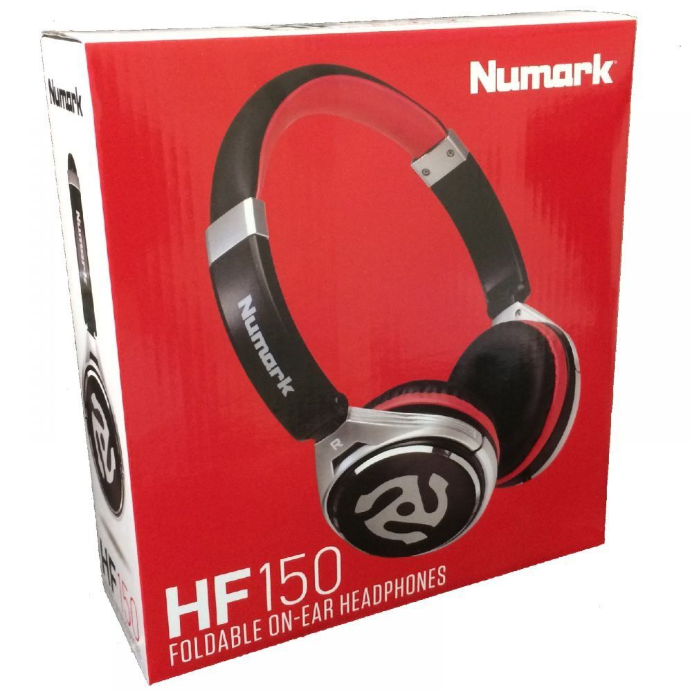 Fone de Ouvido Numark HF150 Professional DJ On Ear