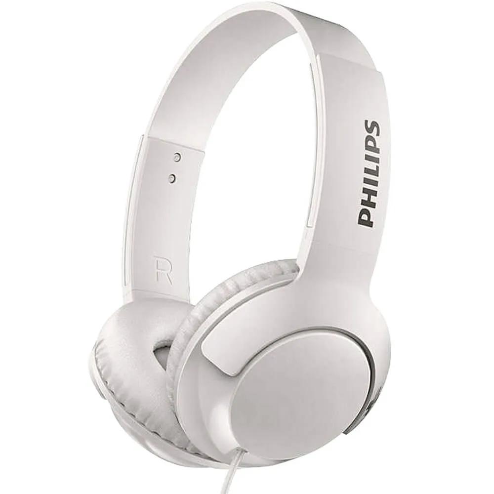 Fone de Ouvido Philips SHL3075 Branco Supra Auricular