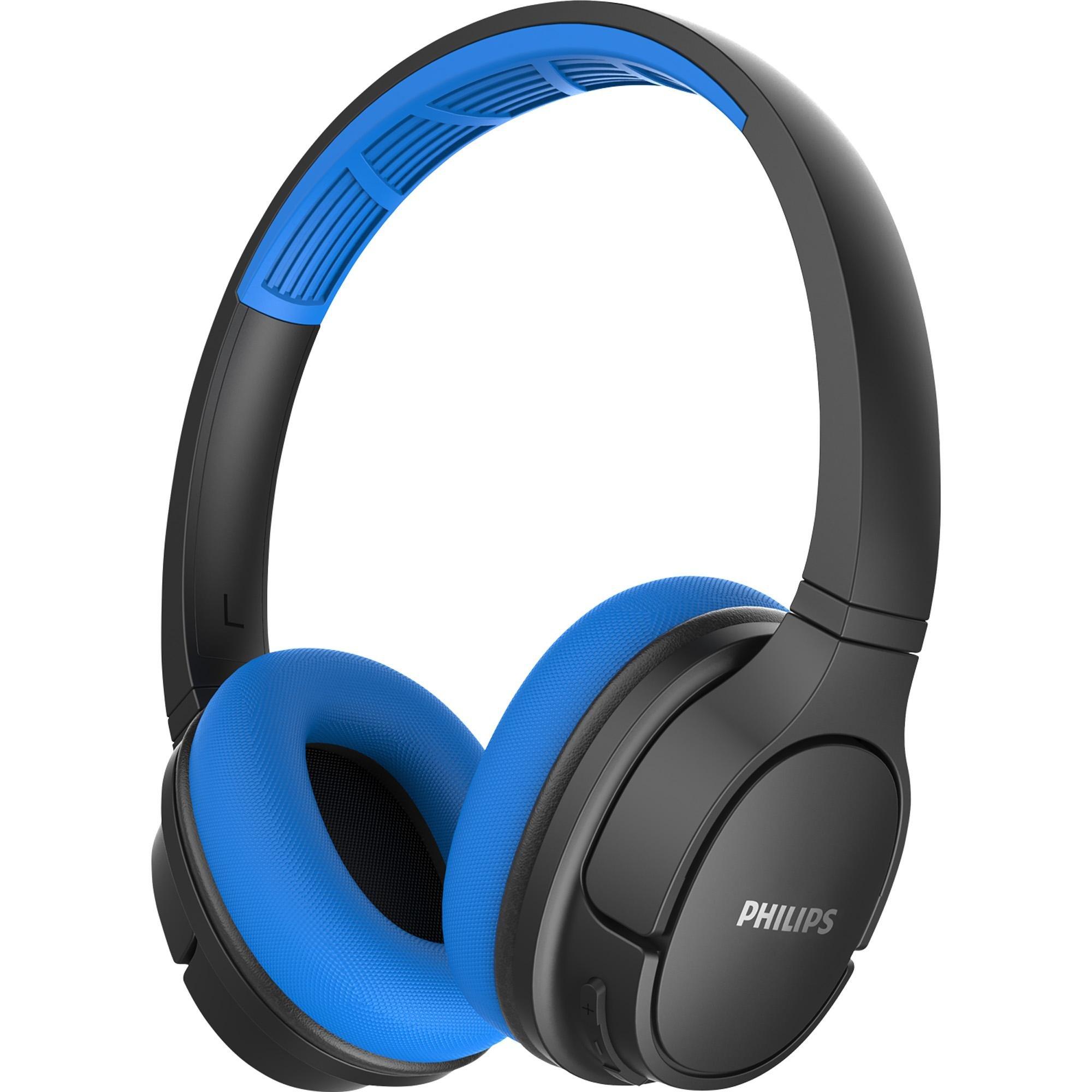 Fone de Ouvido Philips TASH402BL Azul/Preto Bluetooth
