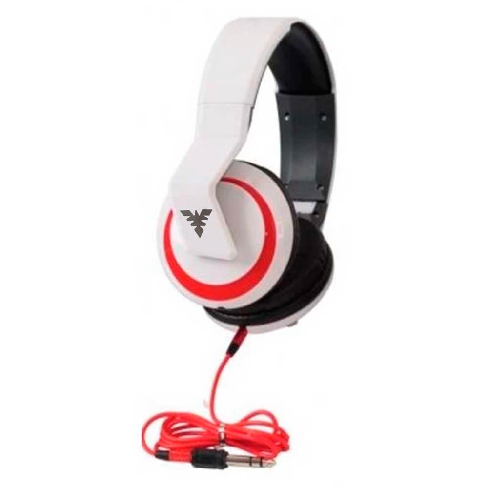 Fone de Ouvido Phx Leg-5 No-5899 Over-Ear Branco
