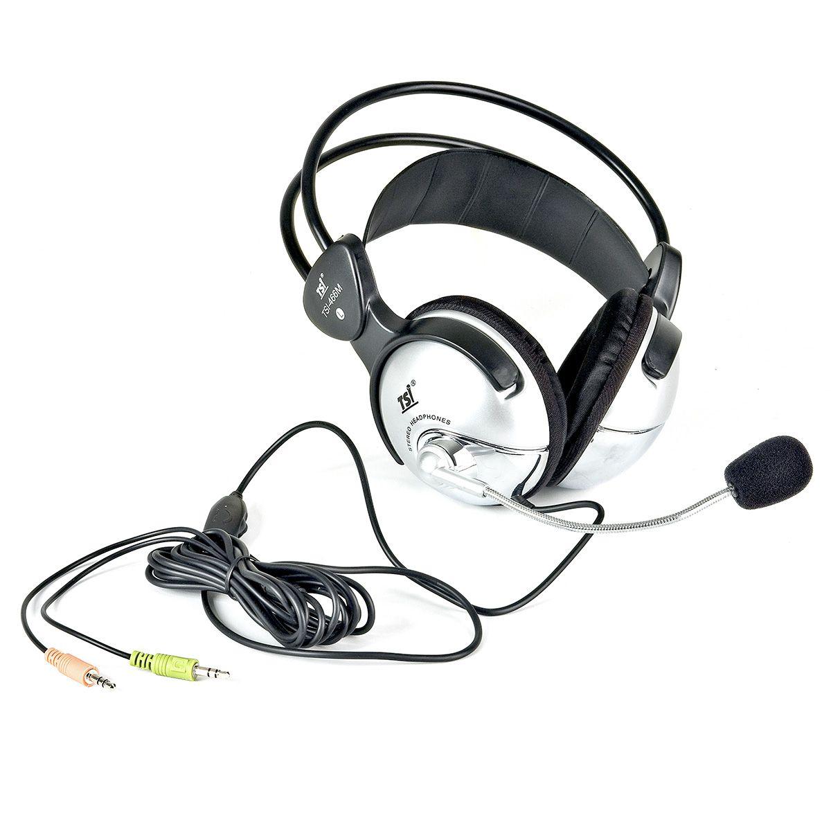 Fone de Ouvido TSI 466-M Over-Ear