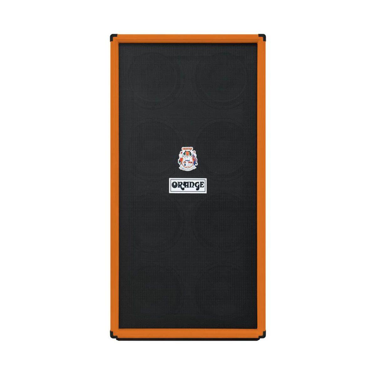 Gabinete Orange OBC810 8x10 1600W para Contrabaixo