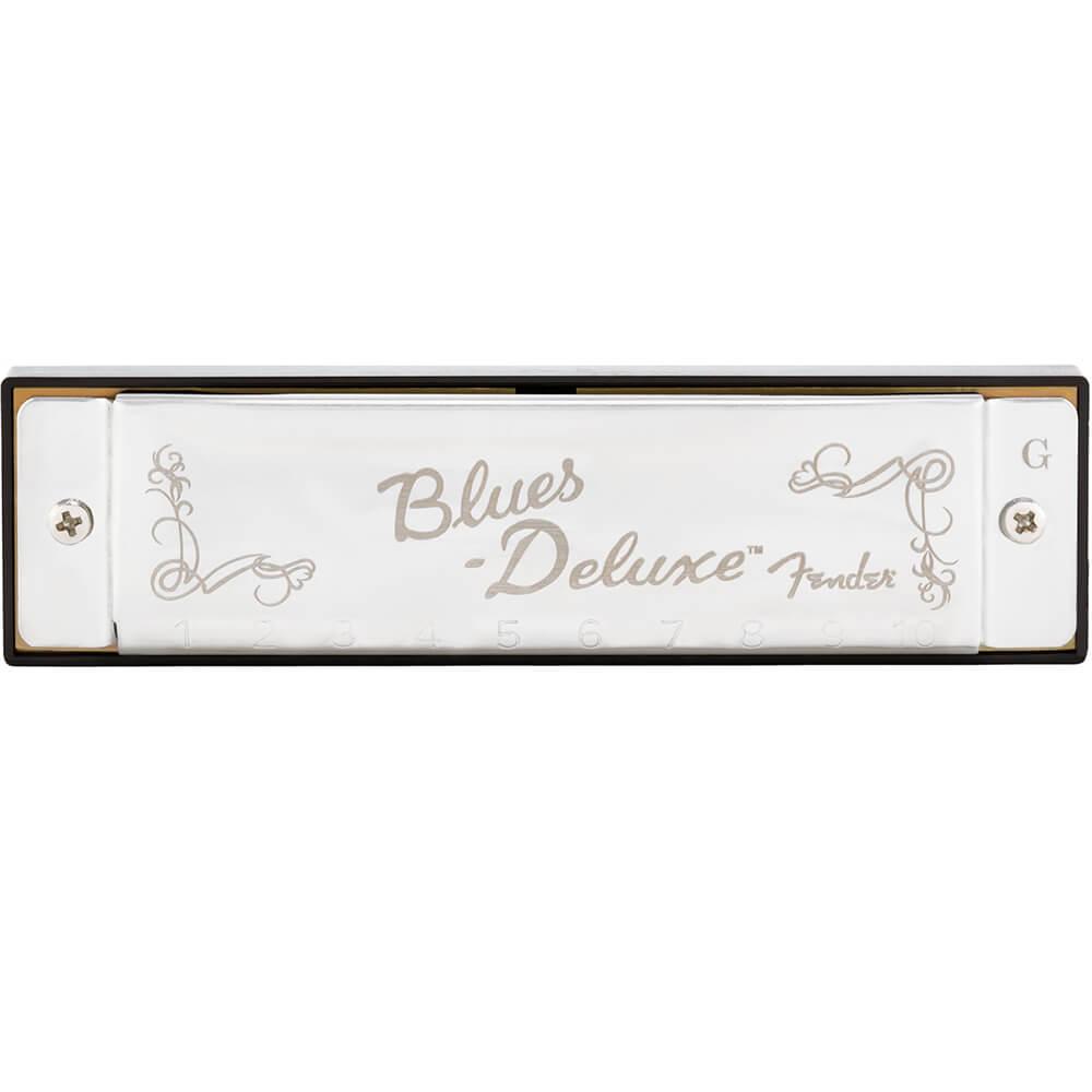 Gaita Diatônica Fender Blues Deluxe em Sol (G)