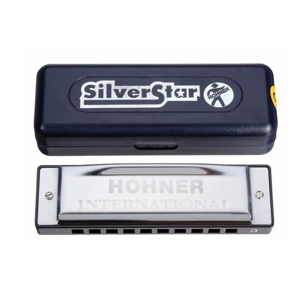 Gaita Diatônica Hohner Silver Star 504/20 D (Ré)