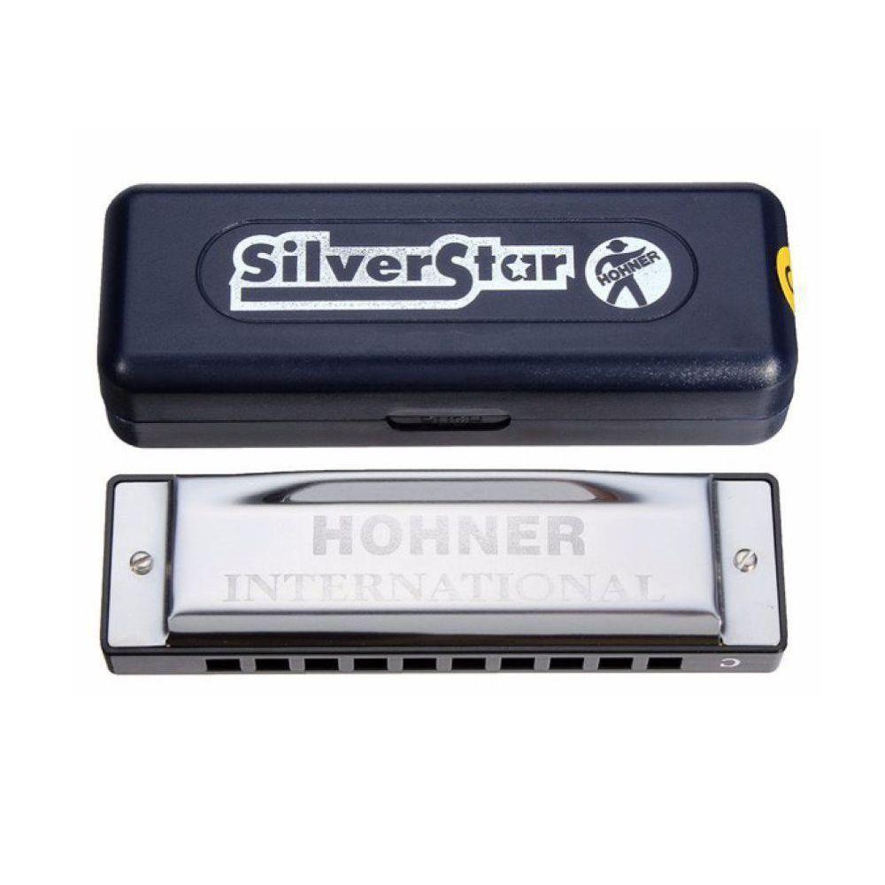 Gaita Diatônica Hohner Silver Star 504/20 E (Mi)