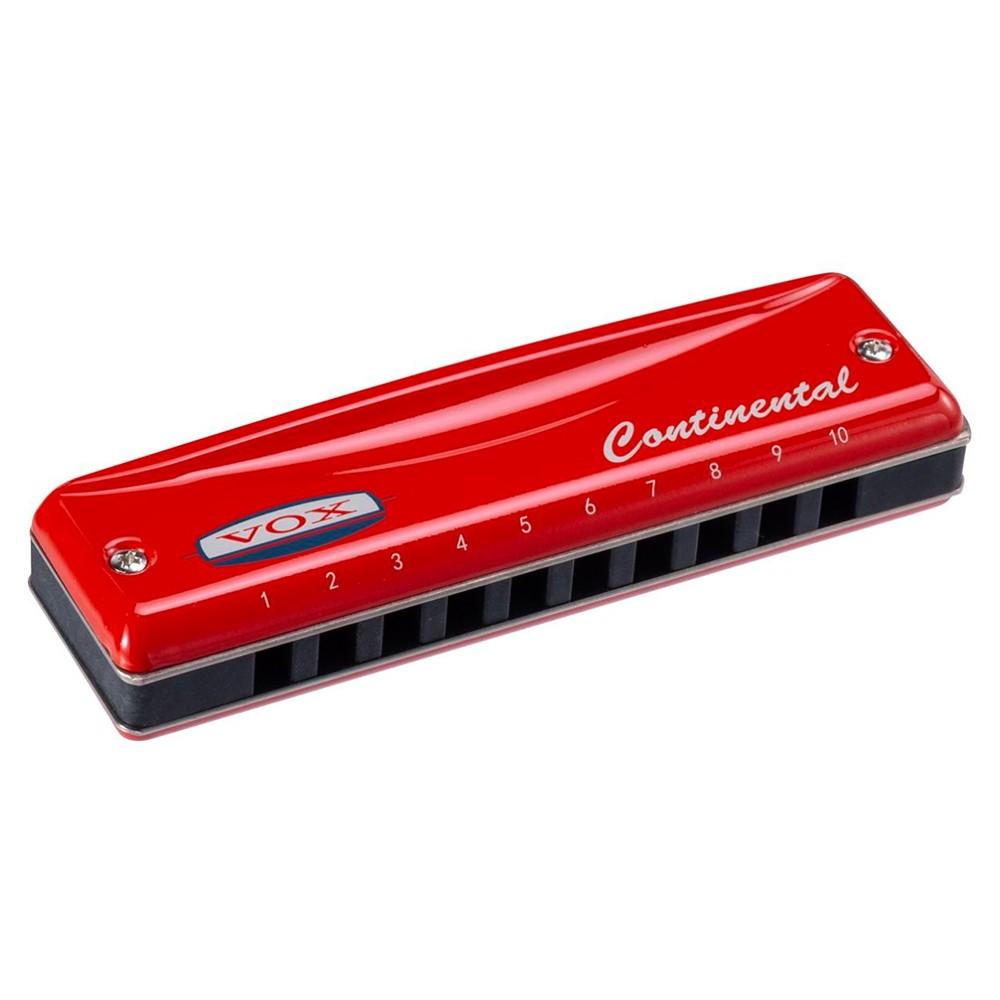 Gaita Harmônica Vox Continental VCH-2-C Red em Lá