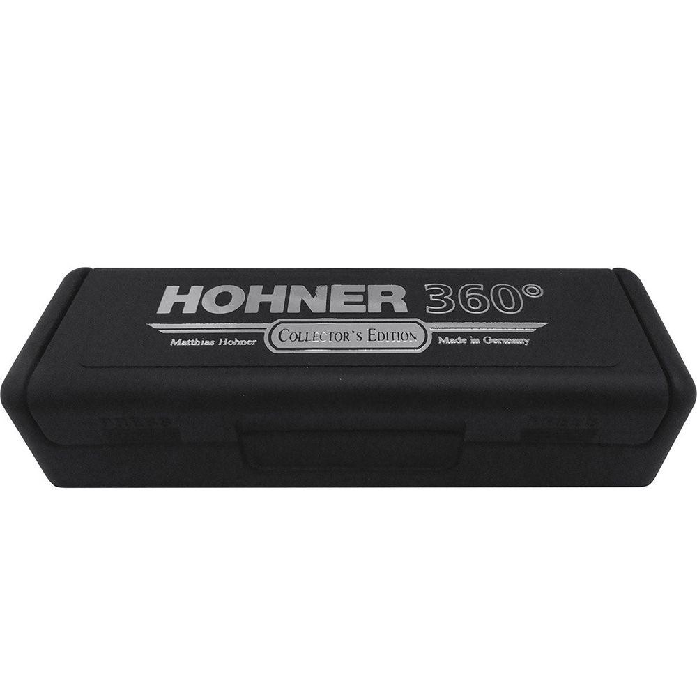 Gaita Hohner Diatônica 360° Box - C