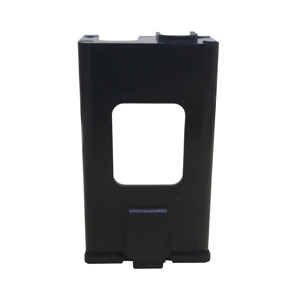 Gaveta Plástica Ronsani Model A para Bateria 9V Preto