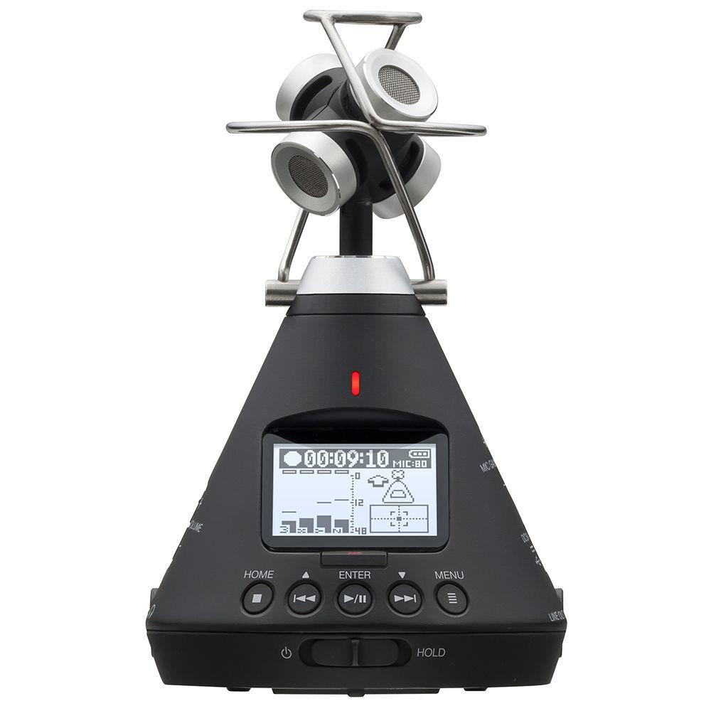 Gravador de Áudio Virtual Zoom H3-VR 360°