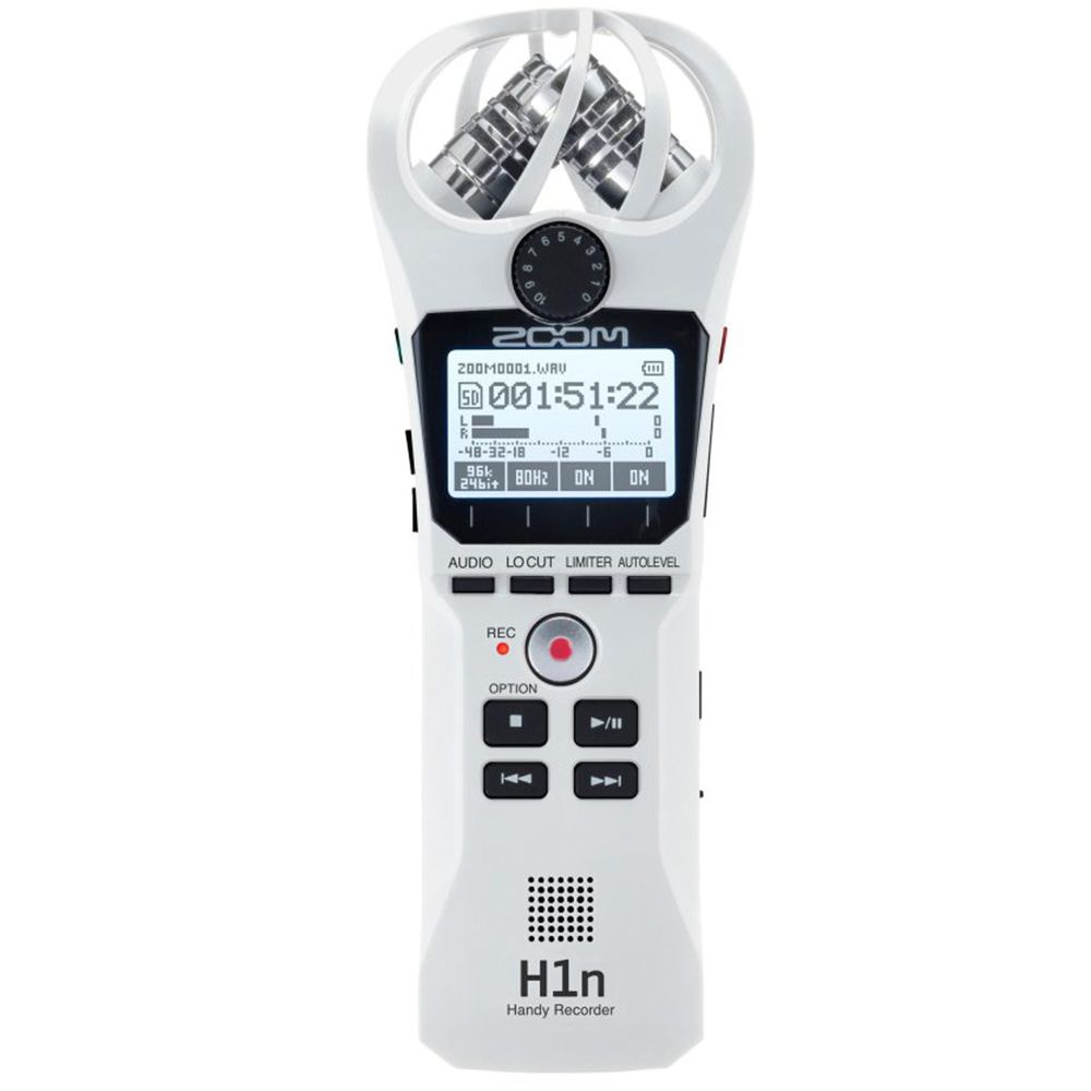 Gravador Digital de Àudio Zoom H1n White