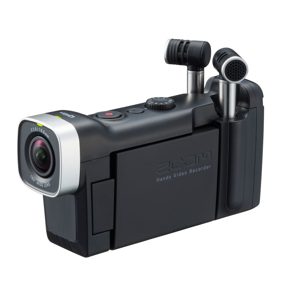 Gravador Digital Portátil Zoom Q4n Handy Video Recorder