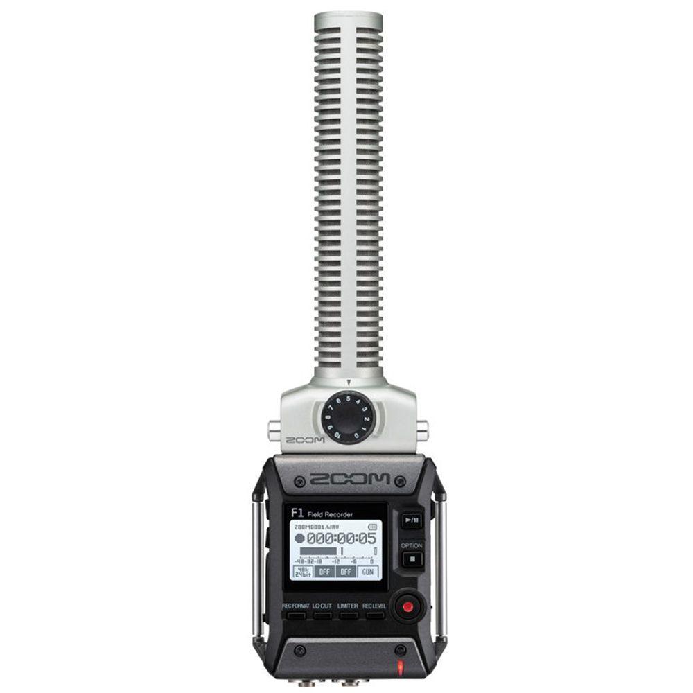 Gravador Digital Zoom F1 Field Recorder Zoom Sgh-6 F1-sp