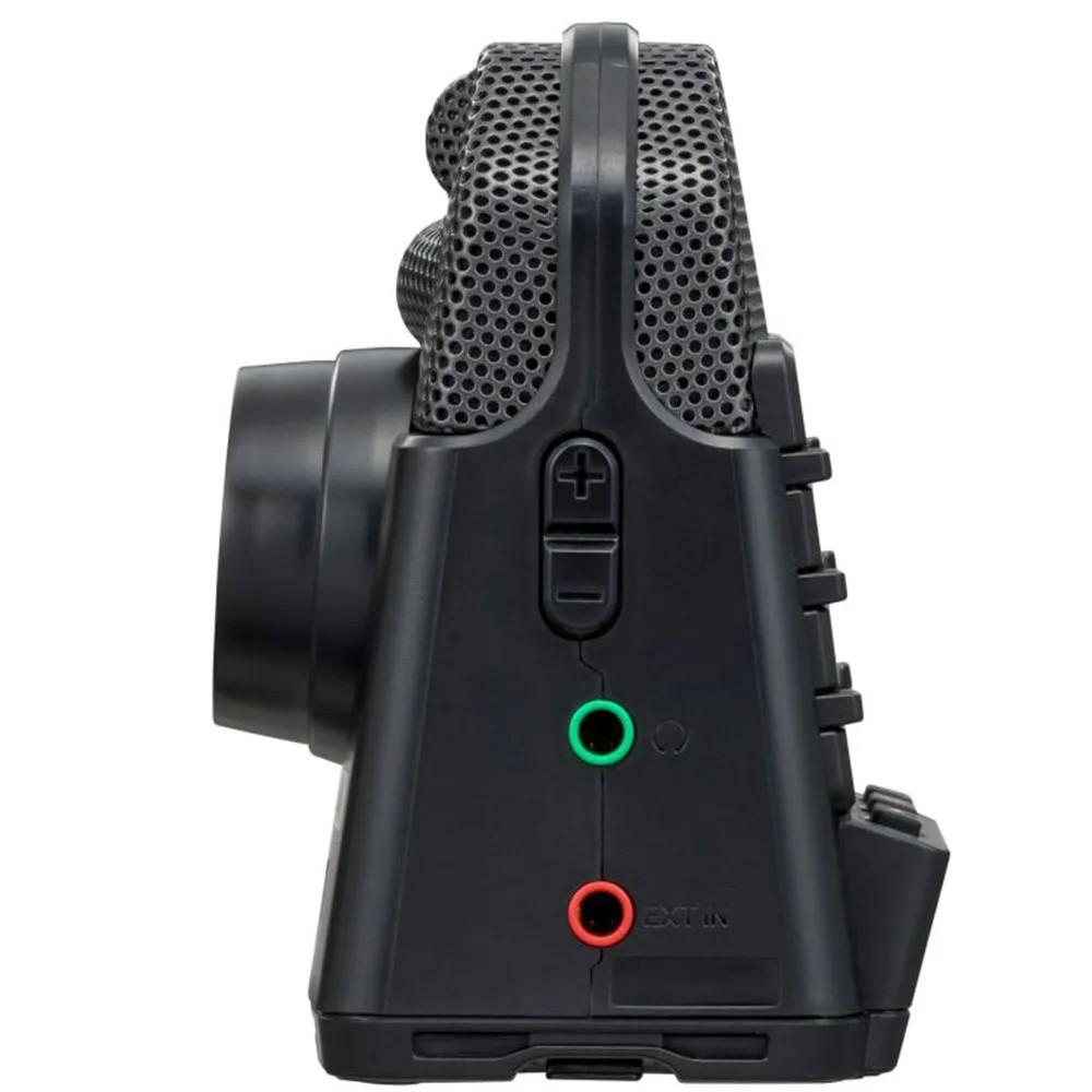 Gravador Digital Zoom Q2n-4K Handy Recorder Áudio e Vídeo 4K
