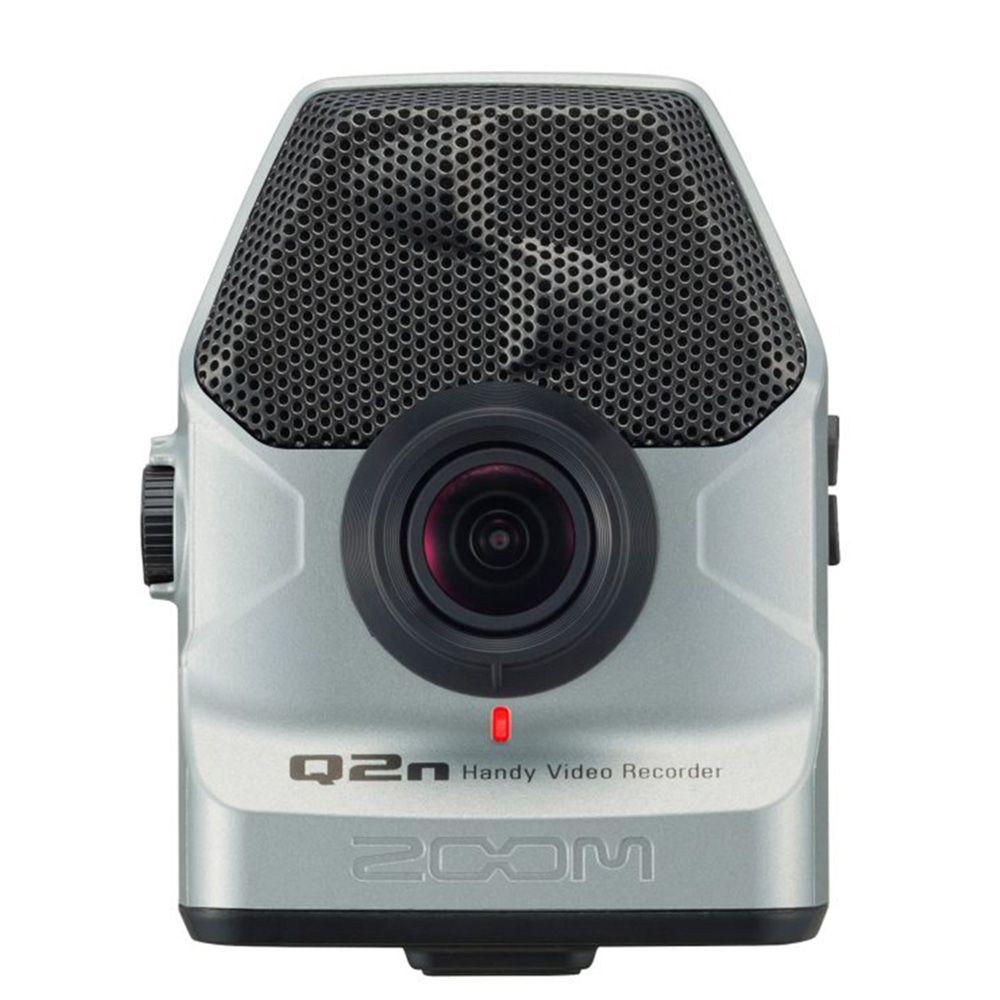 Gravador Digital Zoom Q2n de Áudio e Vídeo Silver