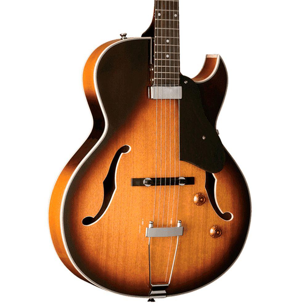 Guitarra Acústica Washburn HB15 CTS Cutaway Tobacco Sunburst