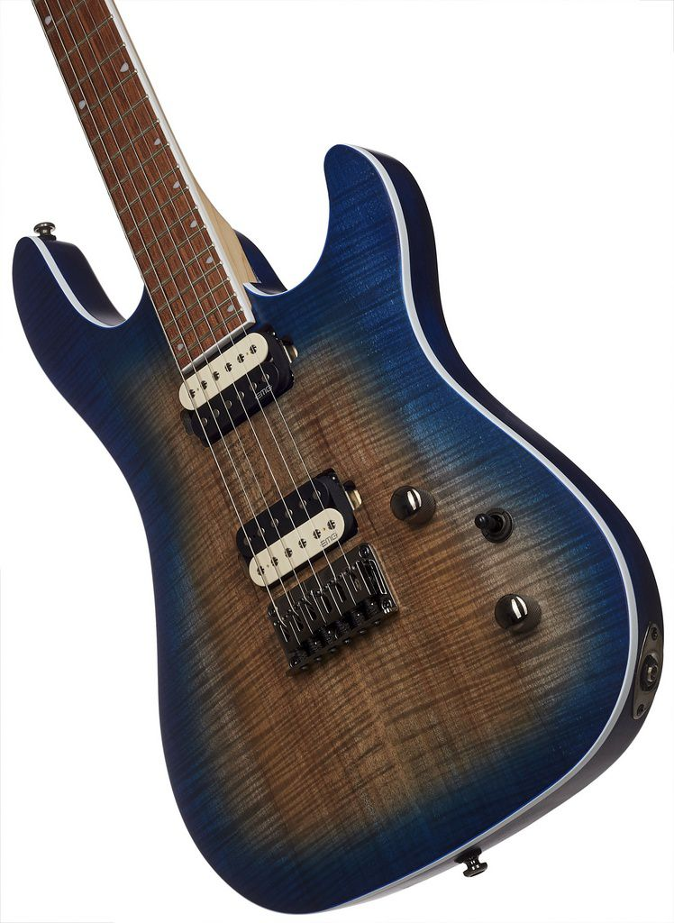 Guitarra Cort KX-300 OPCB EMG Open Pore Cobalt Burst