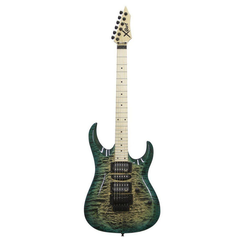 Guitarra Cort X11 QM GRB EMG Quilted Maple