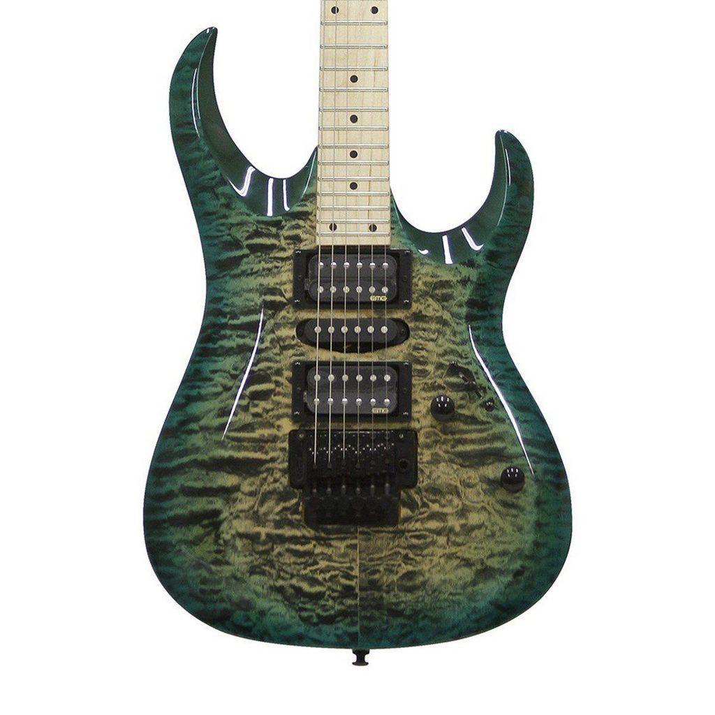 Guitarra Cort X11 QM GRB EMG Quilted Maple