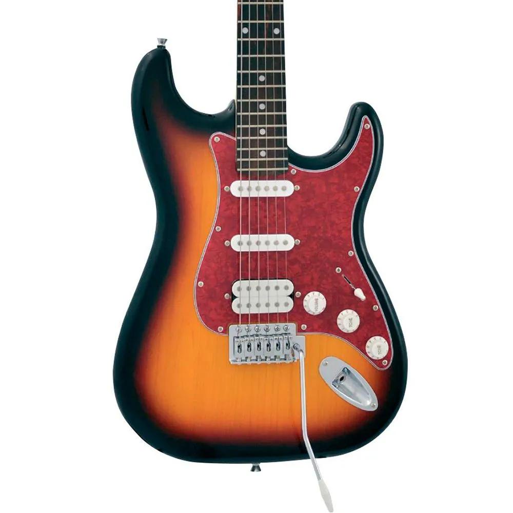 Guitarra Elétrica Phx ST-H 3TS Strato Power HSS Sunburst