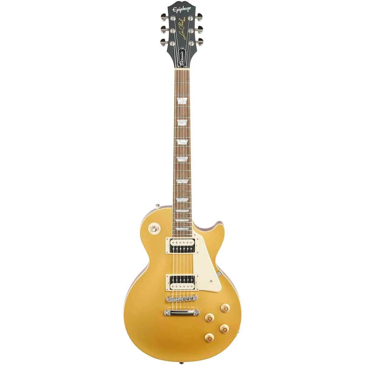 Guitarra Epiphone Les Paul Classic Worn Metallic Gold