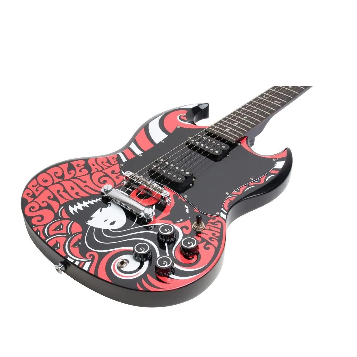 Guitarra Epiphone SG G310 Emily Strange com Capa