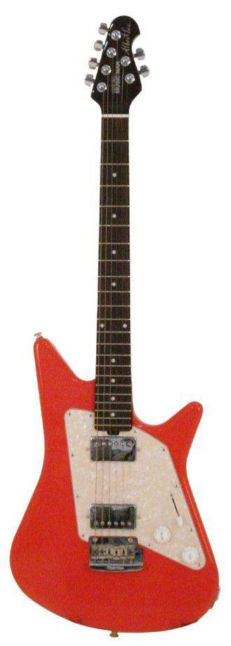Guitarra Ernie Ball Albert Lee Model Signature Coral Red