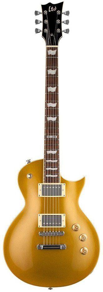 Guitarra ESP LTD EC256 Metallic Gold Top