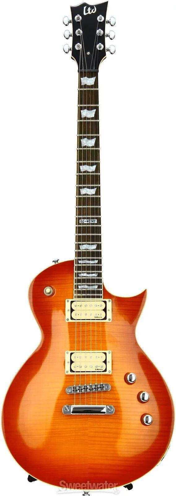Guitarra ESP LTD EC401 Dimarzio Sunburst