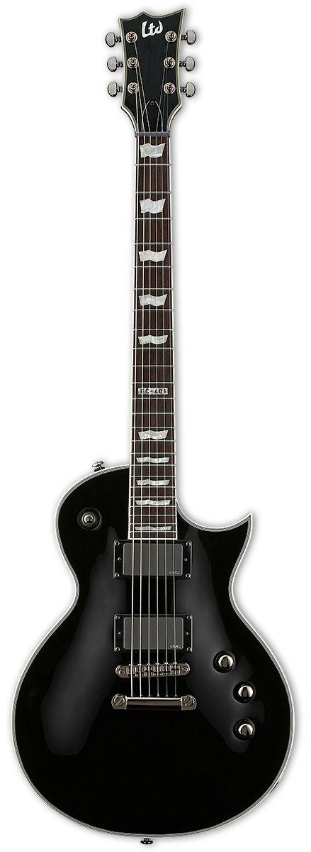 Guitarra ESP LTD EC401 EMG Black