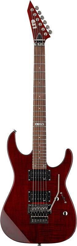 Guitarra ESP LTD M100 FM com Floyd Rose Cherry