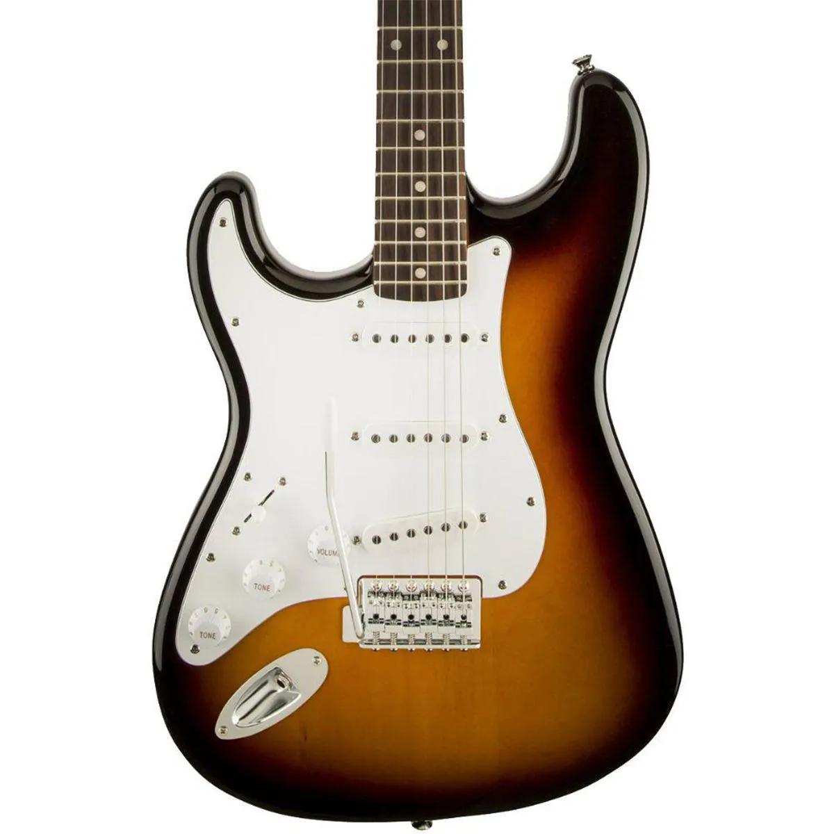 Guitarra Fender Squier Affinity Stratocaster Left Sunburst
