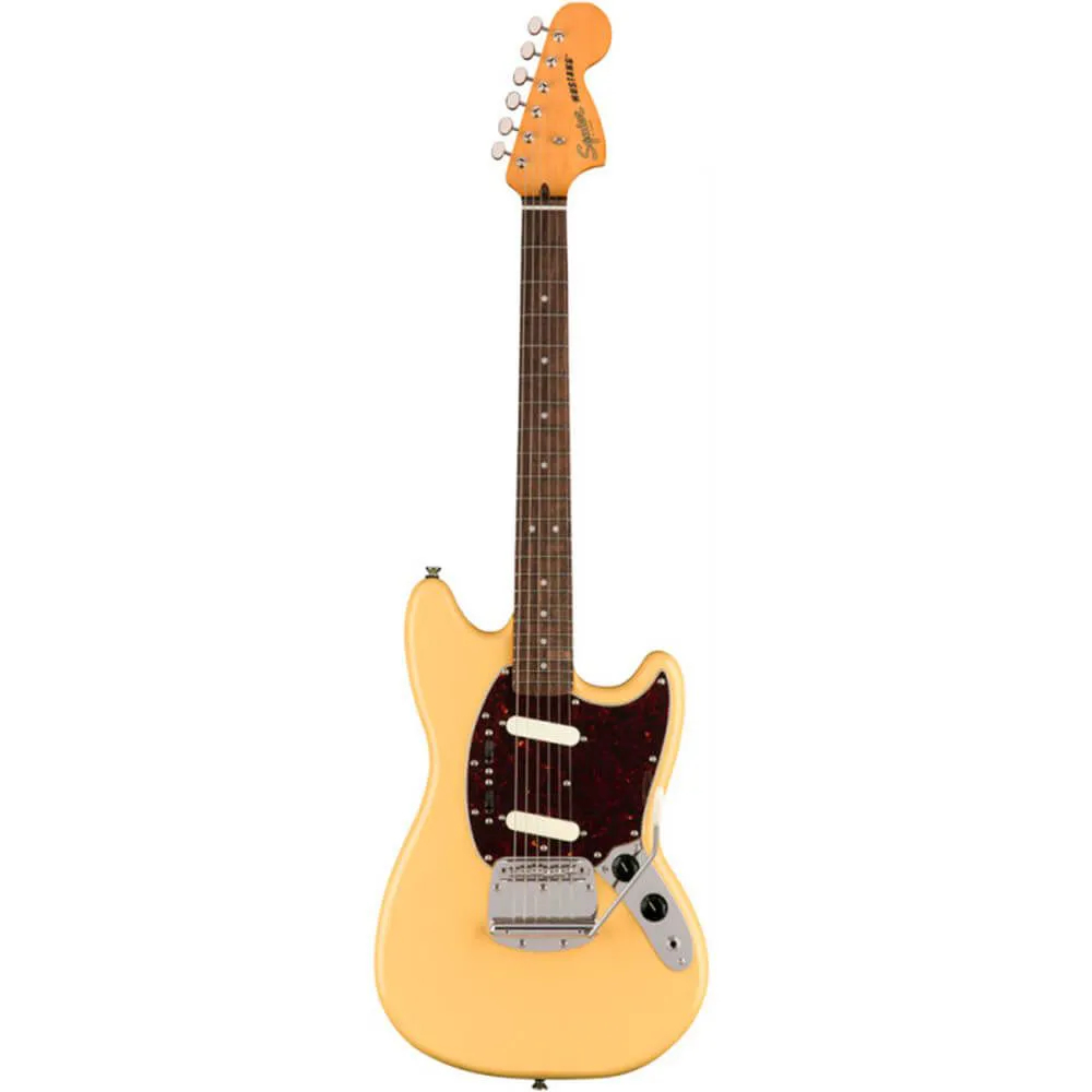 Guitarra Fender Squier Classic Vibe 60s Mustang Vintage White