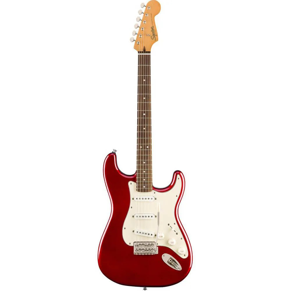 Guitarra Fender Squier Classic Vibe 60s Strato Candy Apple Red