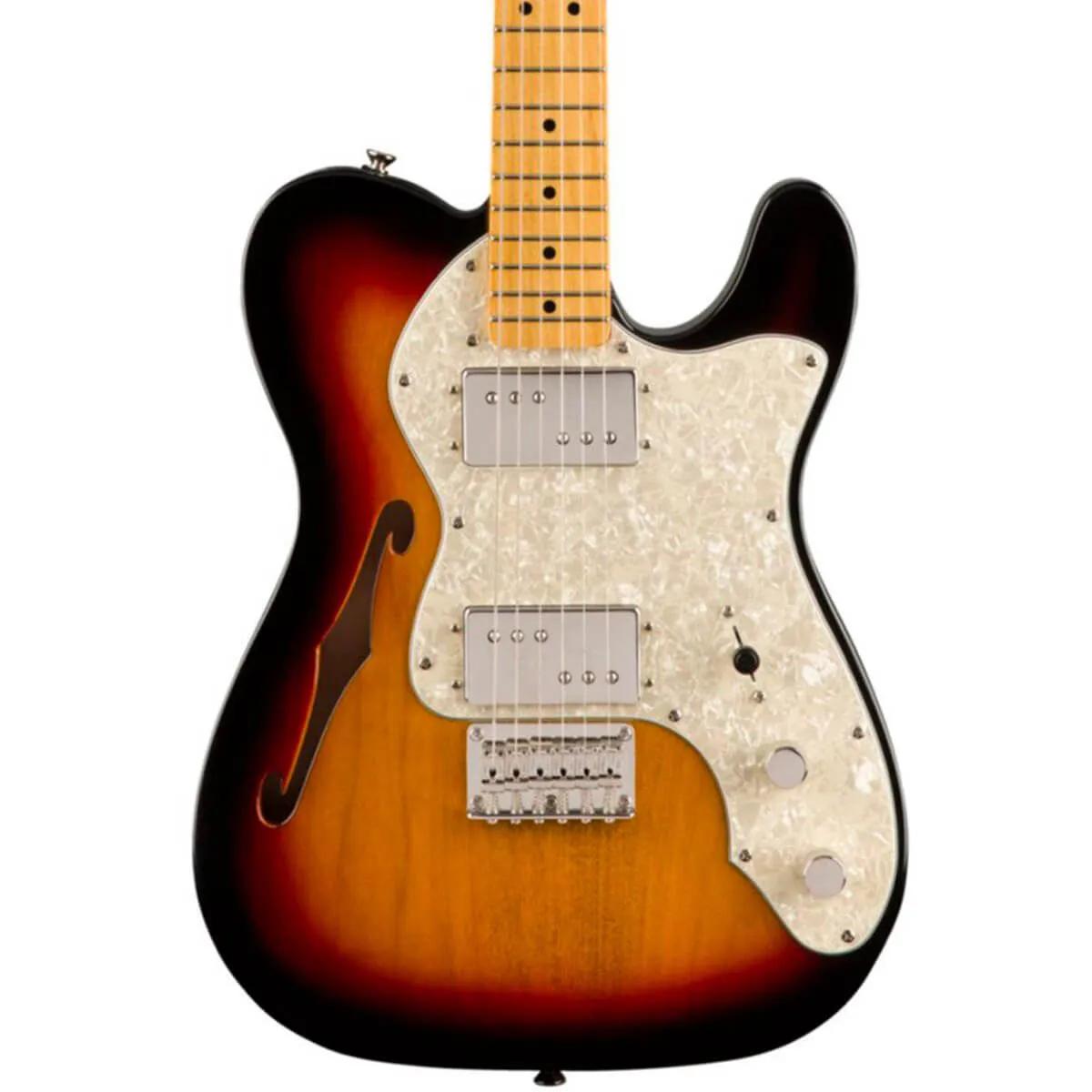 Guitarra Fender Squier Classic Vibe 60s Telecaster Thinline Sunburst