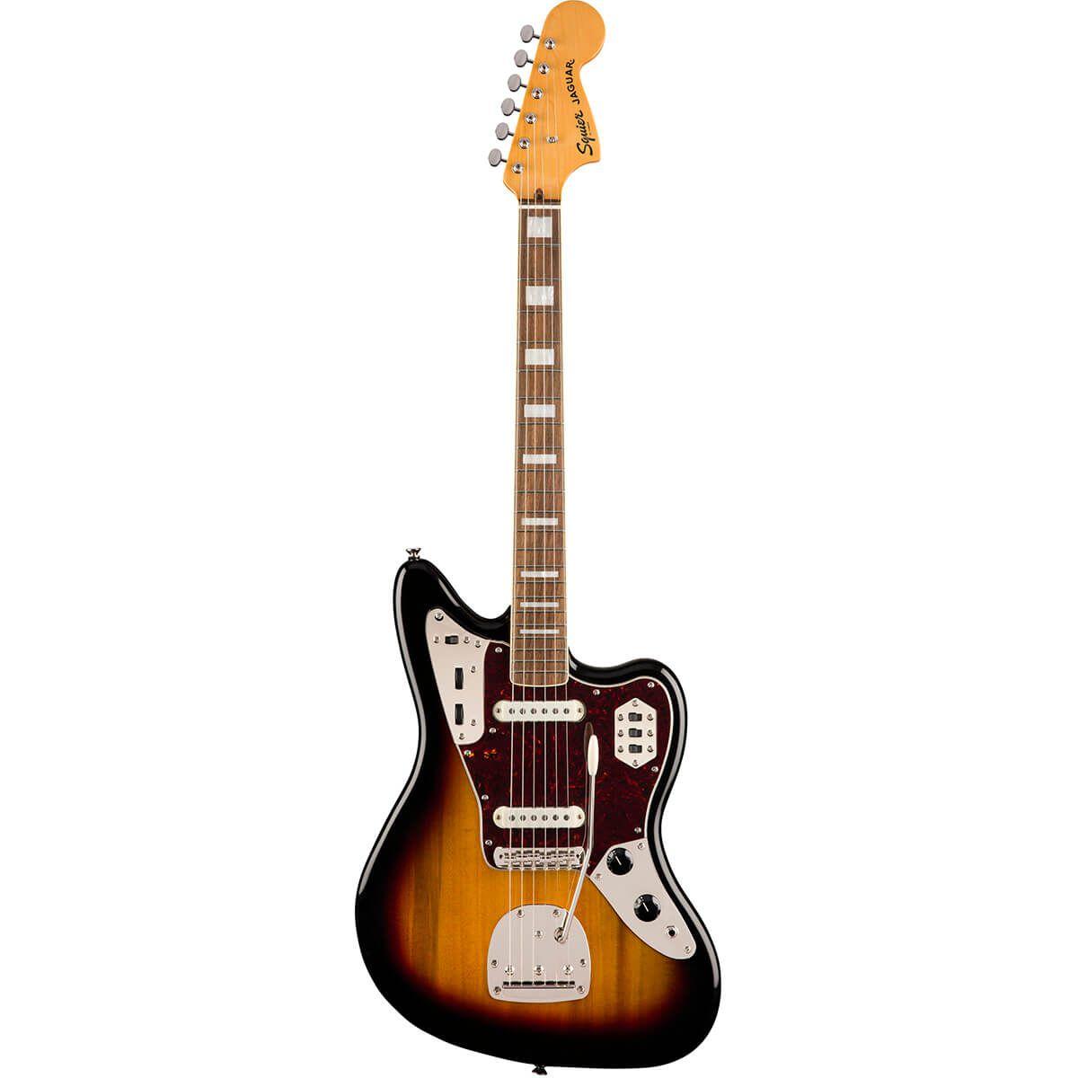 Guitarra Fender Squier Classic Vibe 70s Jaguar Sunburst