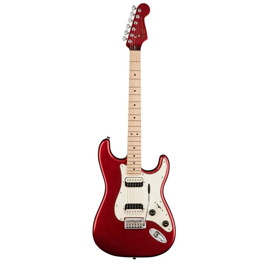 Guitarra Fender Squier Contemporary Stratocaster Dark Metallic Red