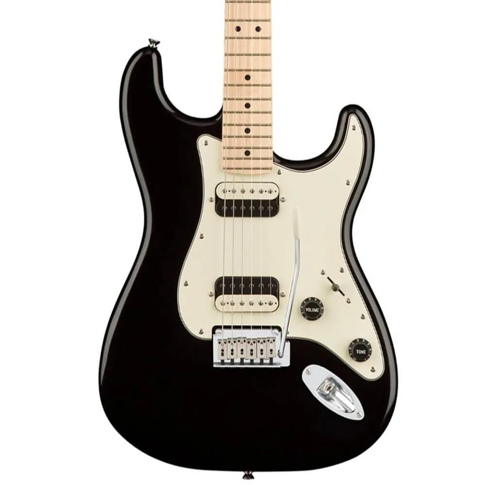 Guitarra Fender Squier Contemporary Stratocaster HH MN Metallic Black