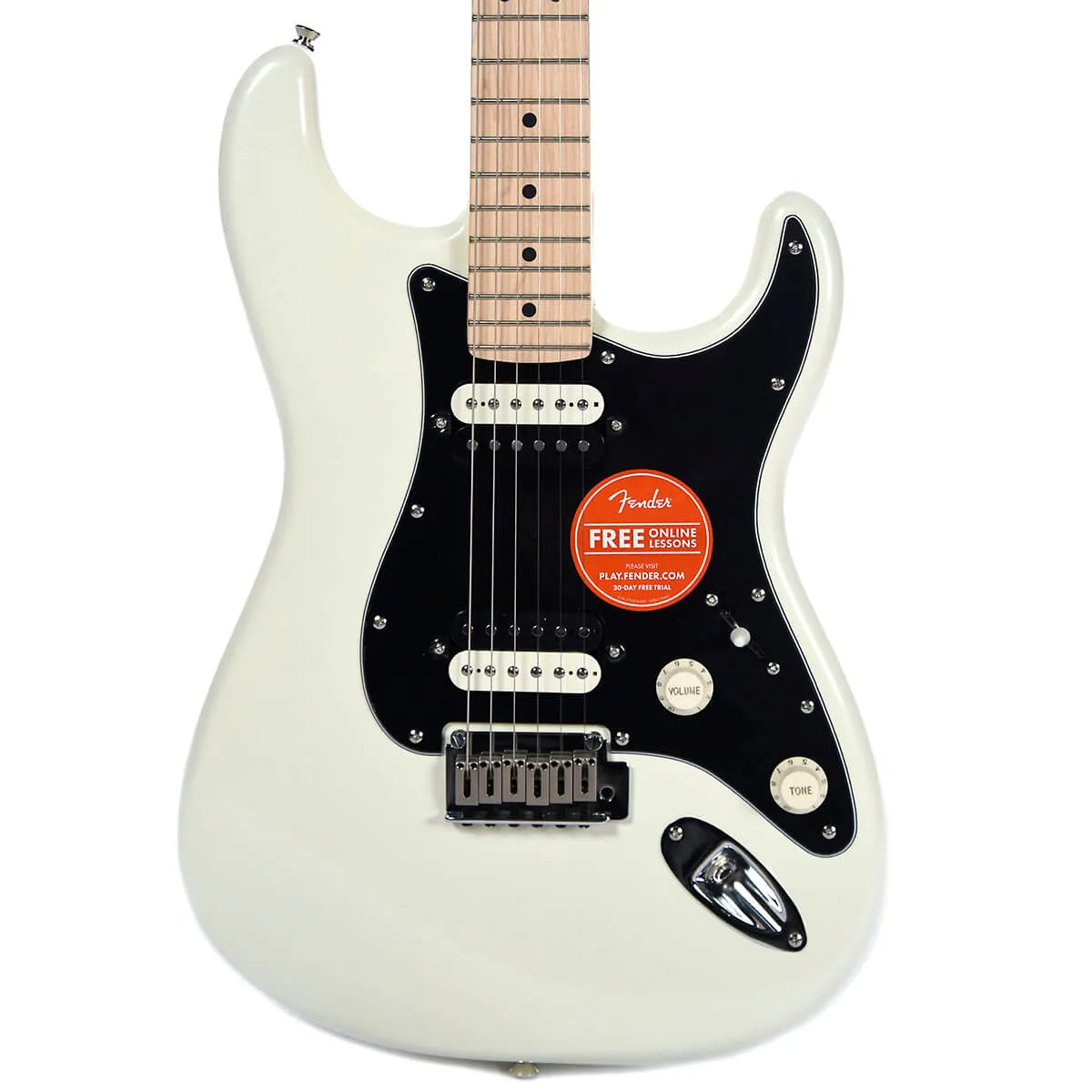 Guitarra Fender Squier Contemporary Stratocaster HH MN Pearl White