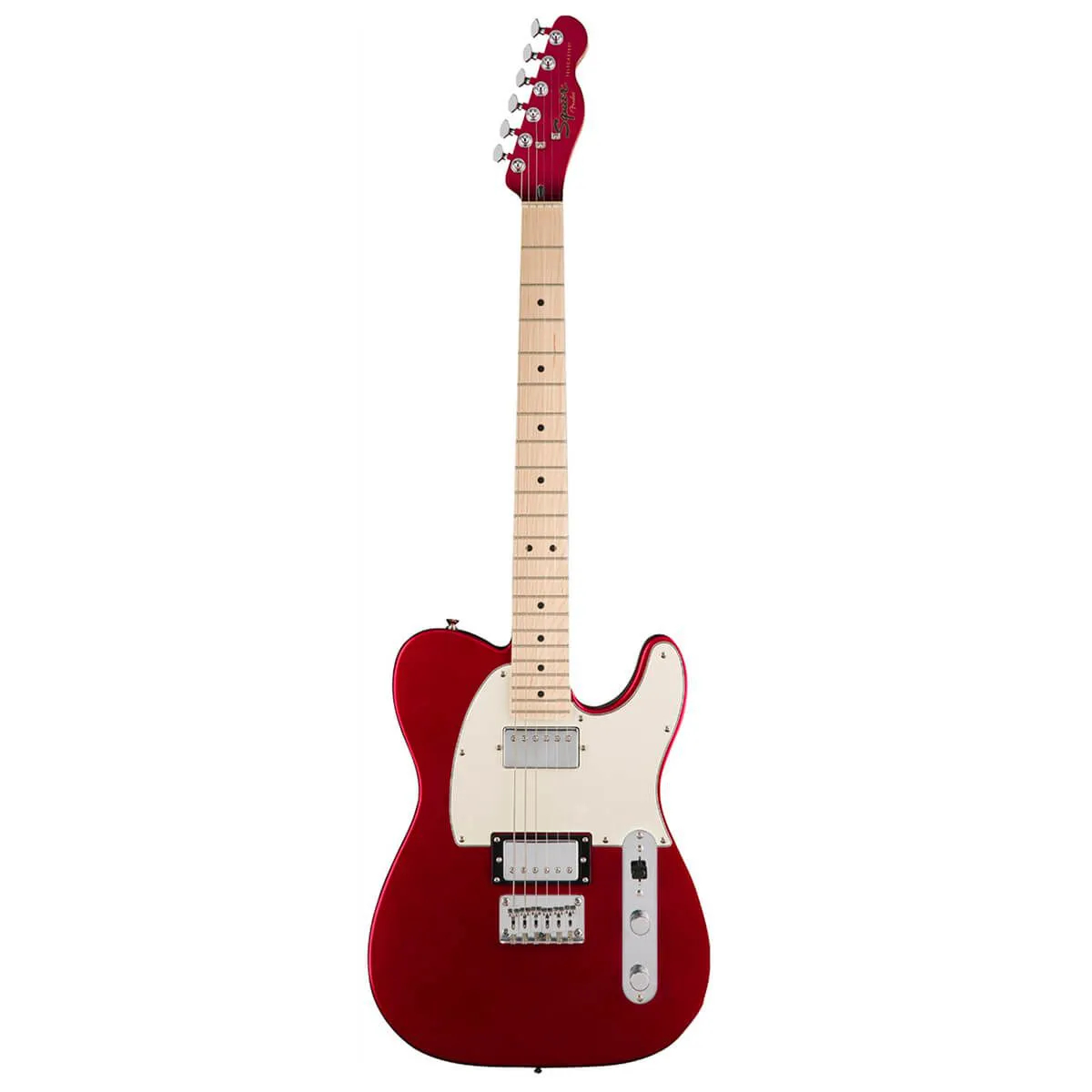 Guitarra Fender Squier Contemporary Telecaster HH MN Dark Metallic Red
