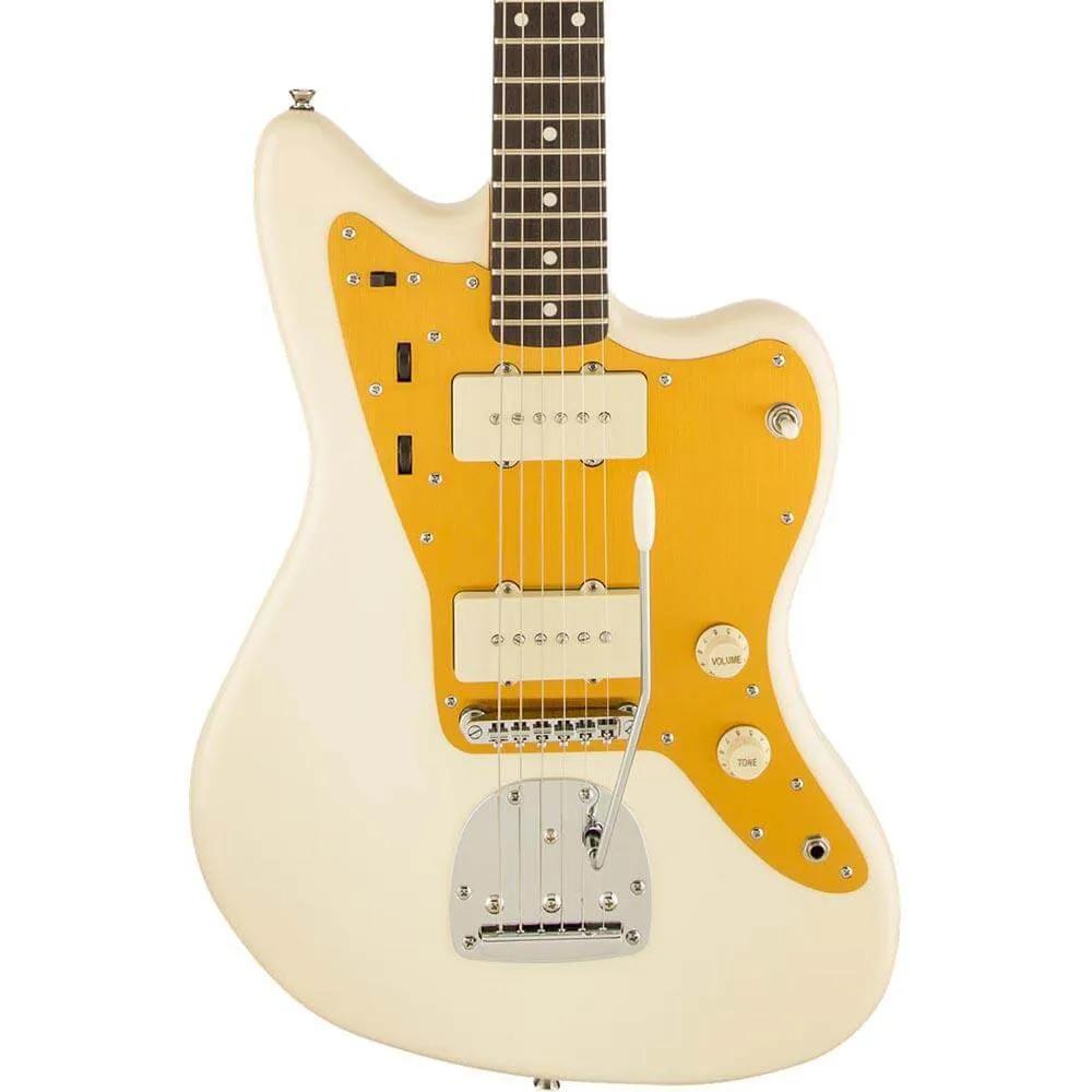 Guitarra Fender Squier J. Mascis JazzMaster Vintage White