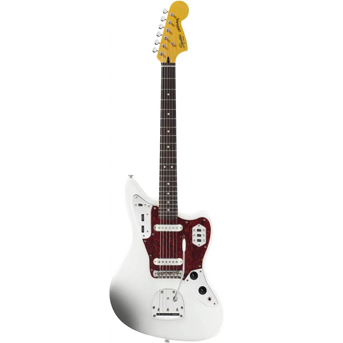 Guitarra Fender Squier Vintage Modified Jaguar Olympic White
