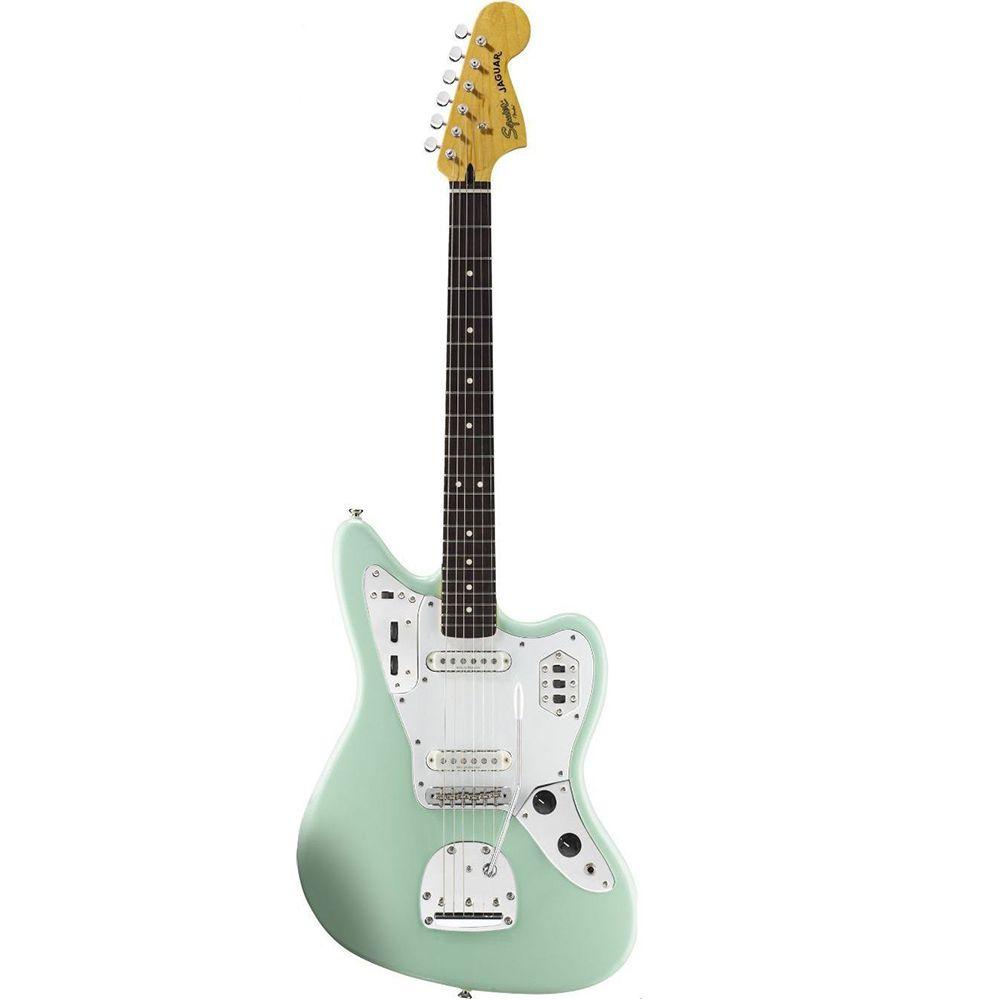 Guitarra Fender Squier Vintage Modified Jaguar Surf Green