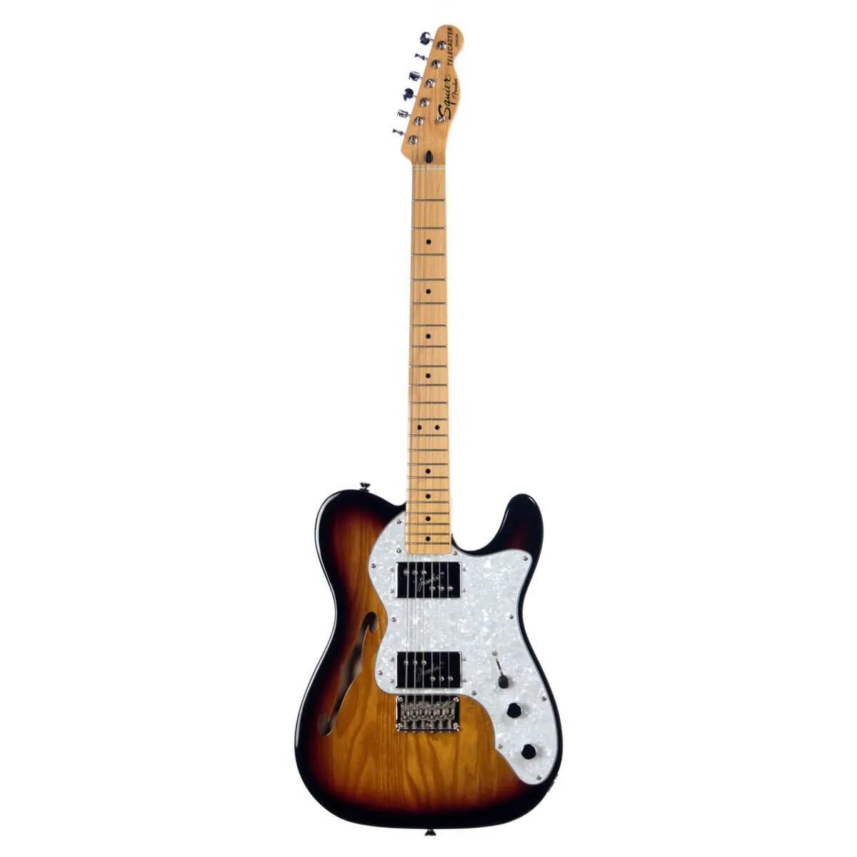 Guitarra Fender Squier Vintage Modified Telecaster Thinline 72 Sunburst
