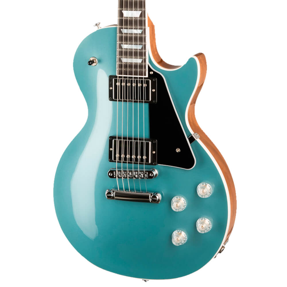 Guitarra Gibson Les Paul Modern Faded Pelham Blue