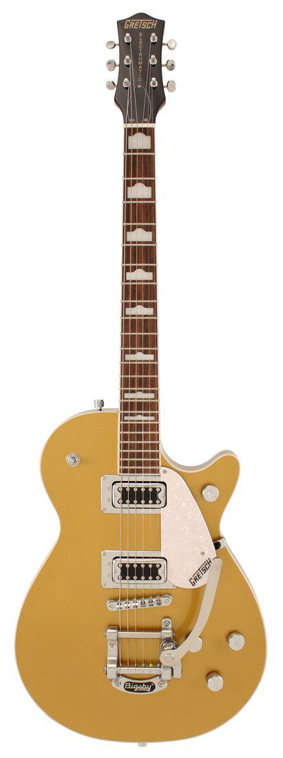 Guitarra Gretsch Electromatic G5438T Pro Jet Bigsby Gold