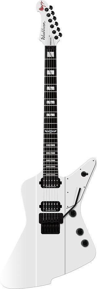Guitarra Parallaxe WhiteGloss - PXZ-MM20FRWH - Washburn