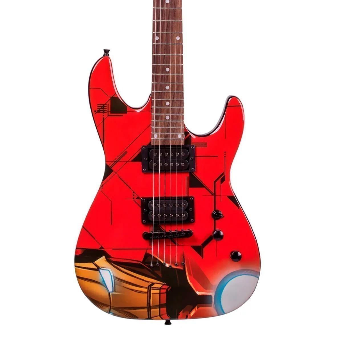 Guitarra Phx GMI-1 Marvel Série Homem de Ferro